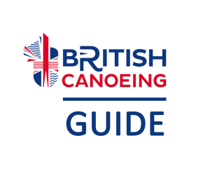 British Canoeing Offical Guide logo
